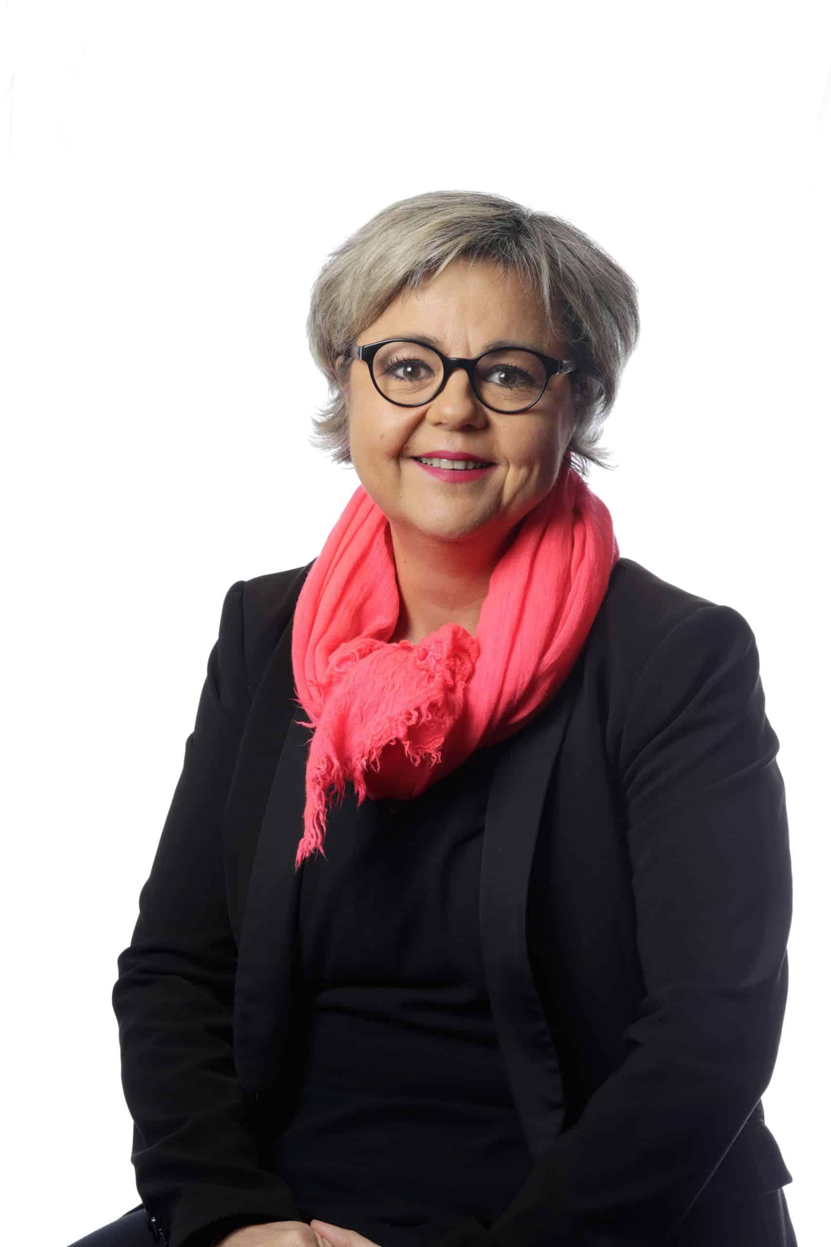 Géraldine Béalu, Vice-Présidente de la commission Education-Formartion tout au long de la vie